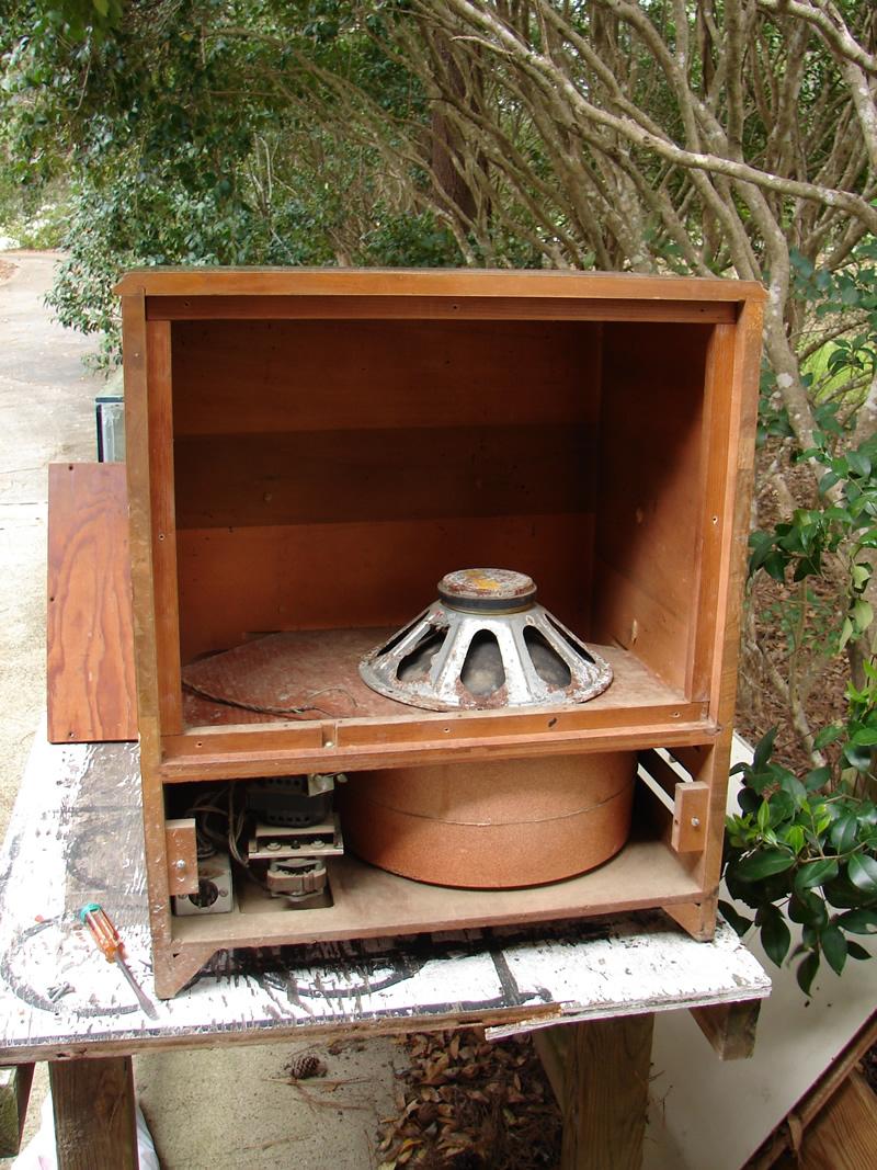 Drew's Geezer Amps - Leslie 120 Hammond Organ Speaker Cabinet